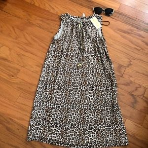 Michael Kors leopard print dress M